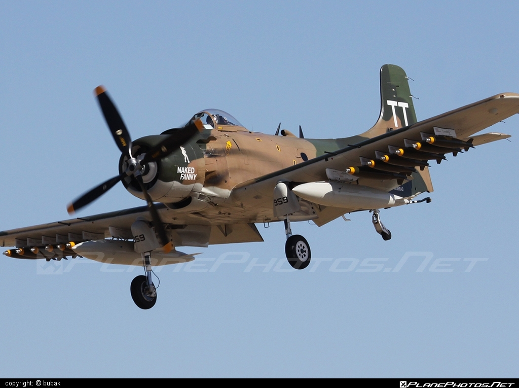 Douglas A-1D Skyraider - N959AD operated by Private operator #douglas