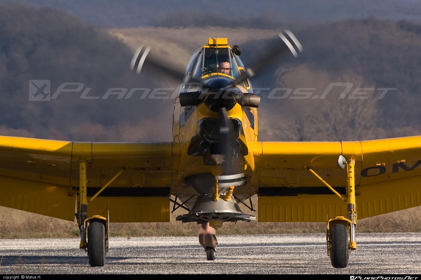 Zlin Z-137T Agro Turbo - OM-VIB operated by AERO SLOVAKIA #aeroslovakia #agroturbo #z137t #zlin #zlin137agroturbo #zlin137t
