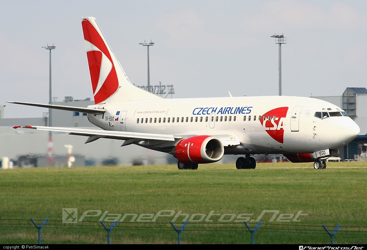 Boeing 737-500 - OK-EGO operated by CSA Czech Airlines #b737 #boeing #boeing737 #csa #czechairlines