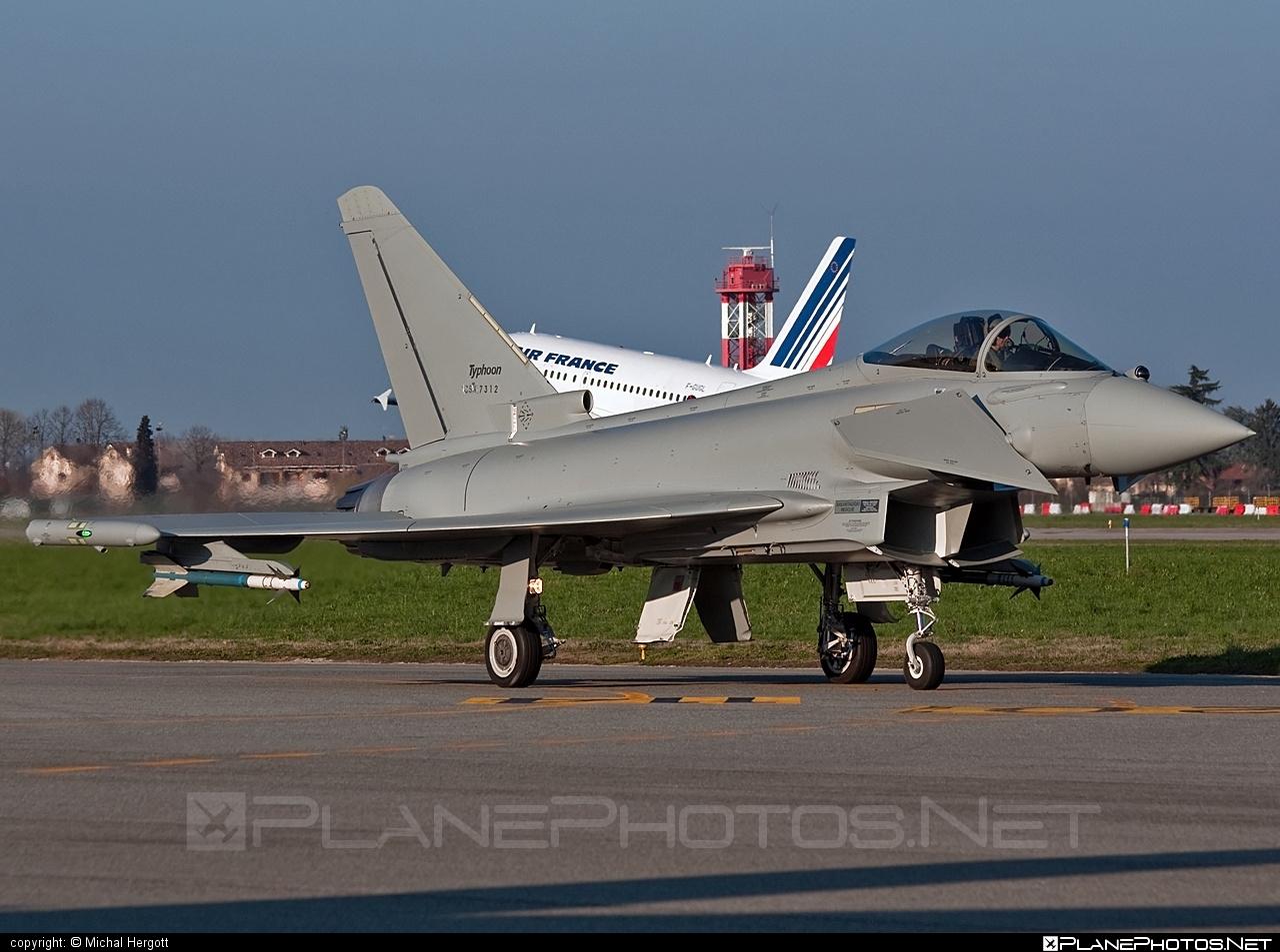 Eurofighter Typhoon S - CSX7312 operated by Aeronautica Militare (Italian Air Force) #eurofighter #typhoon