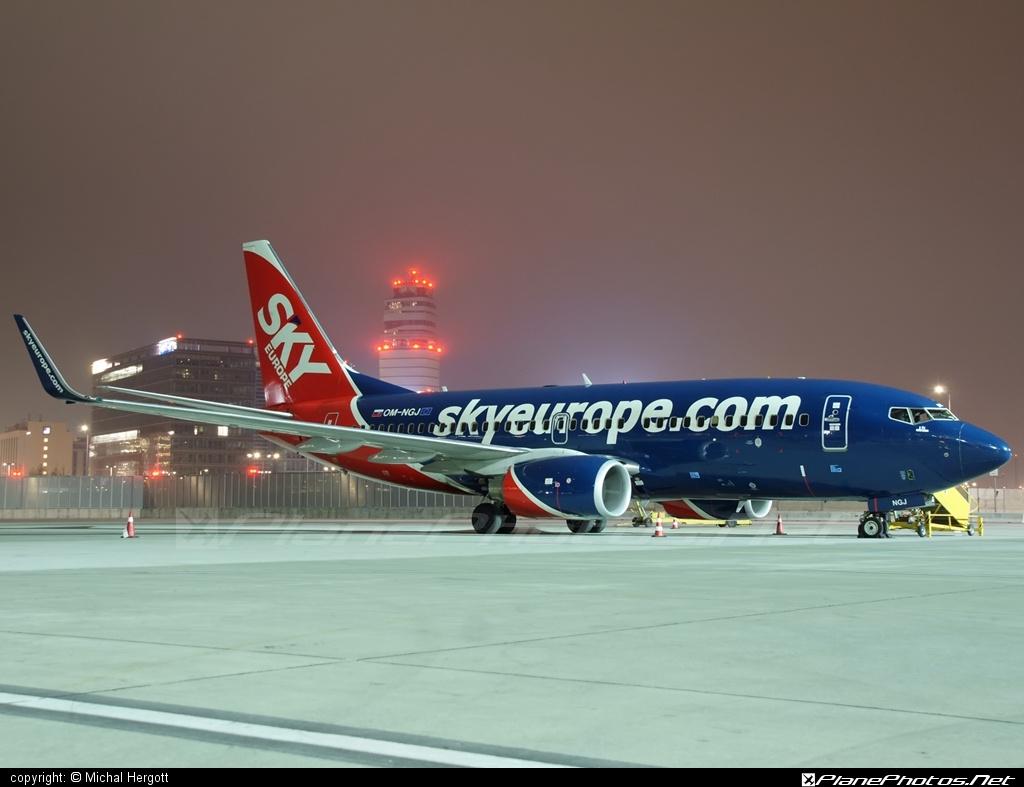 Boeing 737-700 - OM-NGJ operated by SkyEurope Airlines #b737 #b737nextgen #b737ng #boeing #boeing737