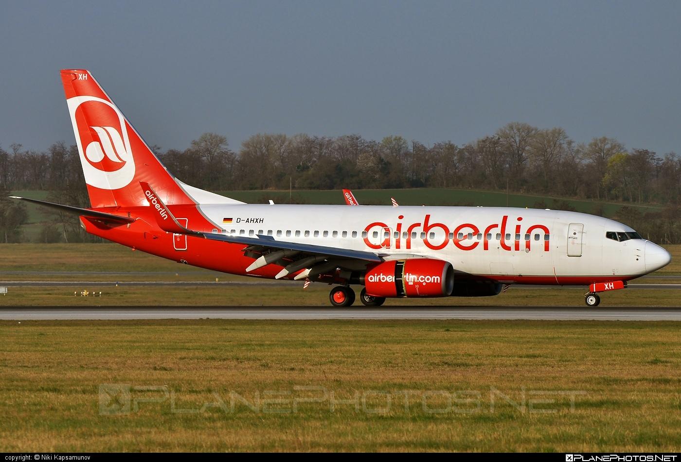Boeing 737-700 - D-AHXH operated by Air Berlin #airberlin #b737 #b737nextgen #b737ng #boeing #boeing737
