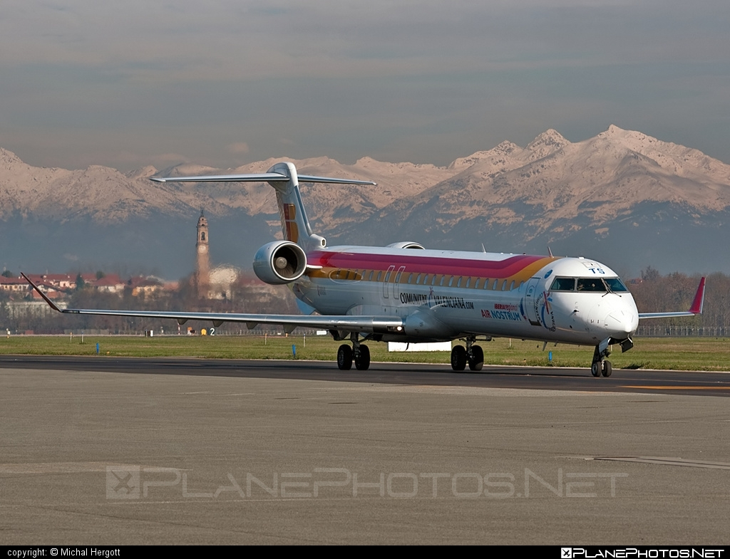 Bombardier CRJ900 - EC-JTS operated by Iberia Regional (Air Nostrum) #airnostrum #bombardier #crj900 #iberia #iberiaregional