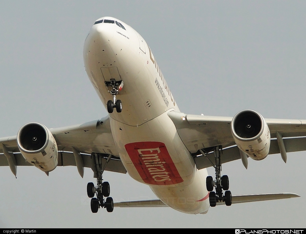 Airbus A330-243 - A6-EKQ operated by Emirates #a330 #a330family #airbus #airbus330 #emirates