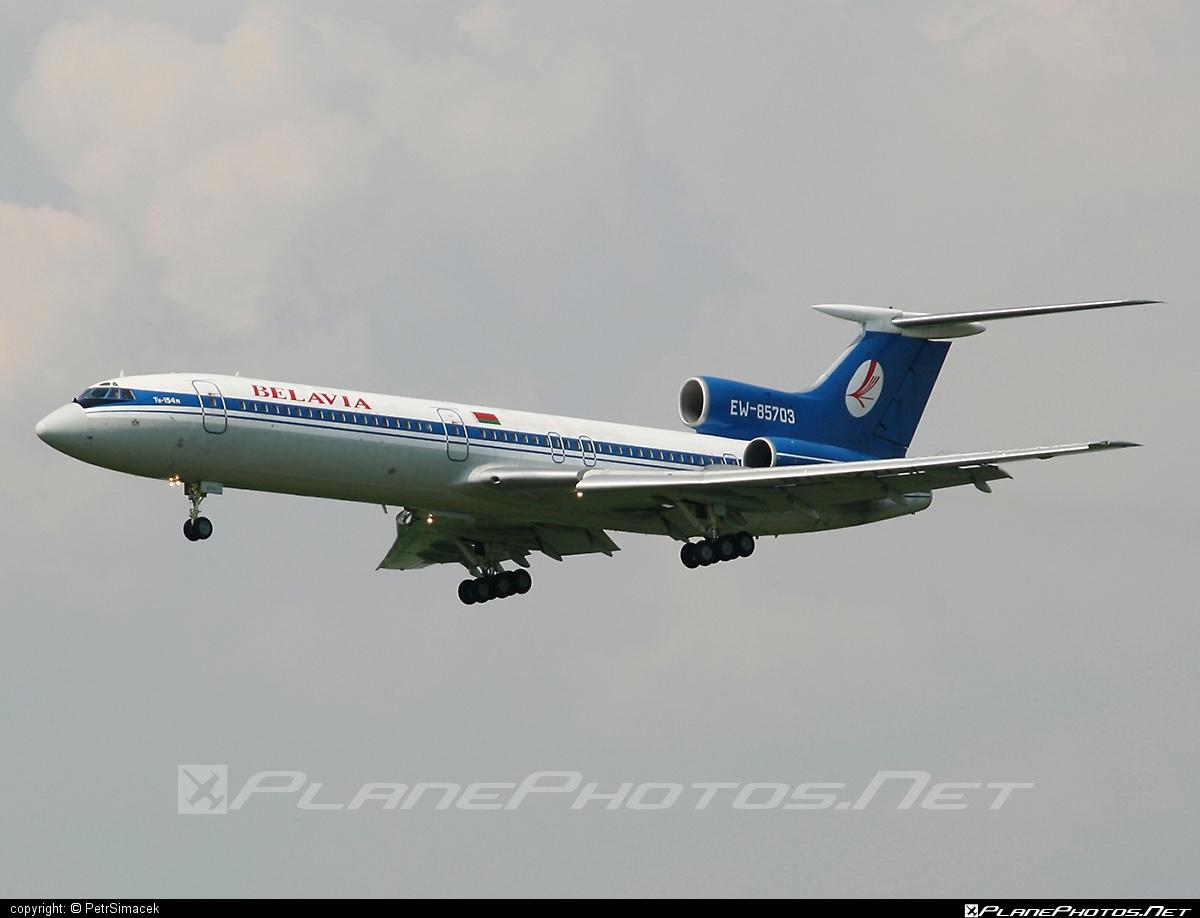 Tupolev Tu-154M - EW-85703 operated by Belavia Belarusian Airlines #belavia #tu154 #tu154m #tupolev