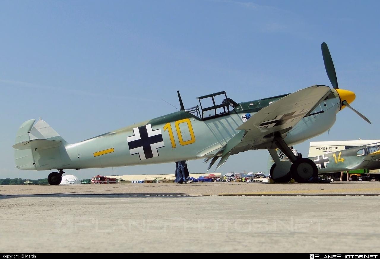 Hispano HA-1112-M1L Buchon - G-BWUE operated by Private operator #hispano