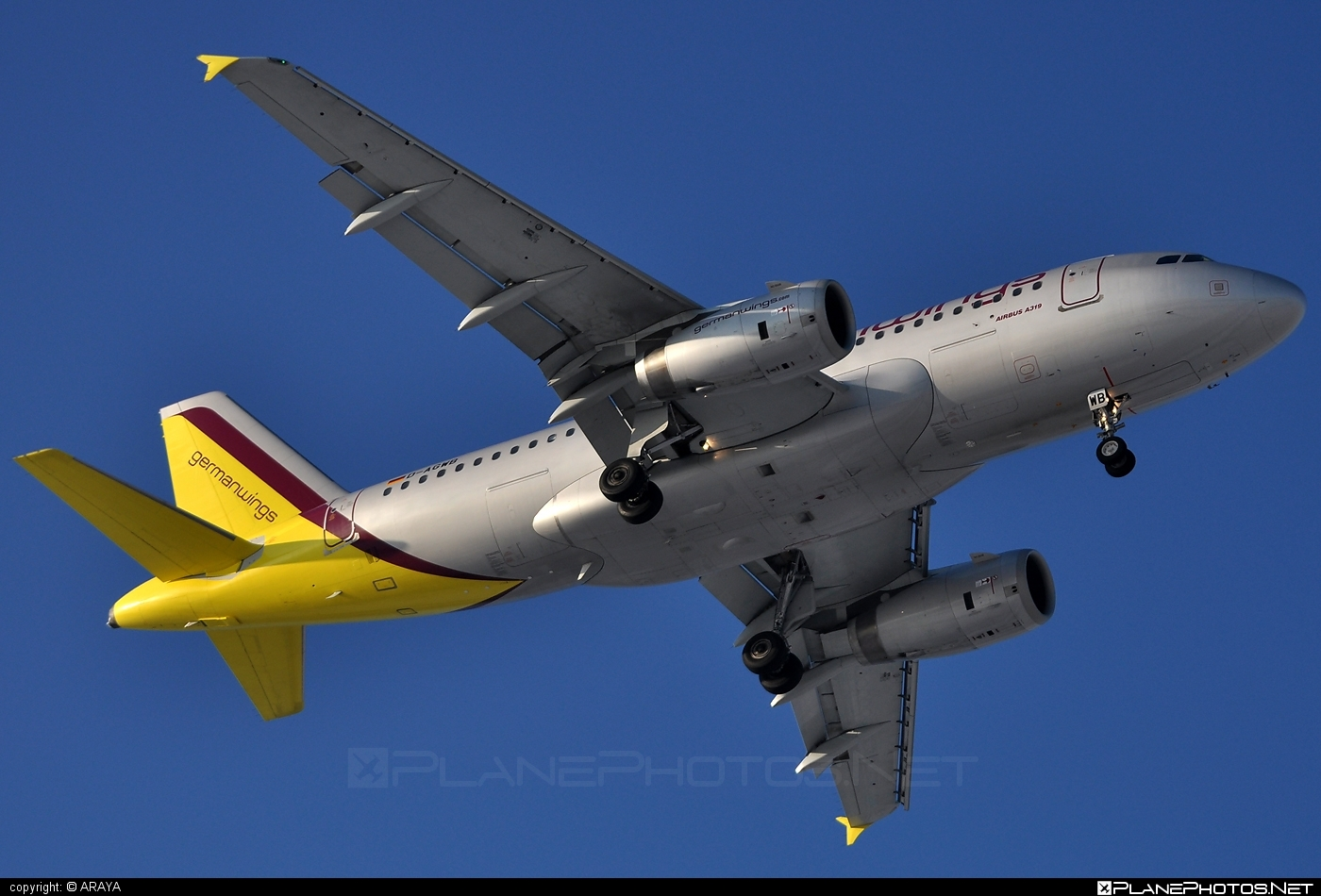 Airbus A319-132 - D-AGWB operated by Germanwings #a319 #a320family #airbus #airbus319