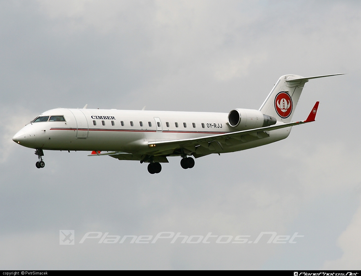 Bombardier CRJ200ER - OY-RJJ operated by Cimber Air #bombardier #crj200 #crj200er