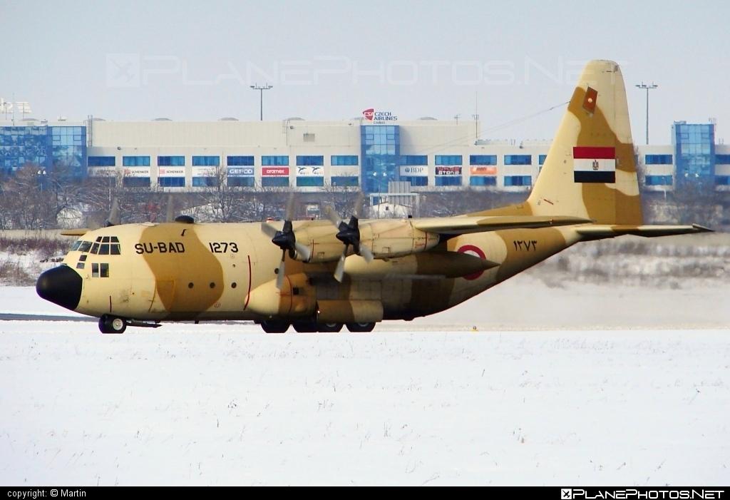 Lockheed C-130H Hercules - 1273 operated by Al-Qūwāt al-Gawwīyä al-Miṣrīyä (Egyptian Air Force) #C130HHercules #c130 #c130hercules #lockheed #lockheedc130 #lockheedc130h