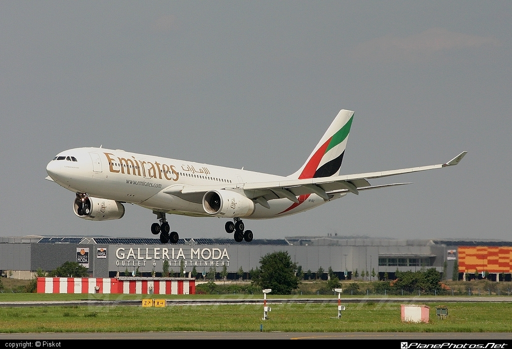 Airbus A330-243 - A6-EKZ operated by Emirates #a330 #a330family #airbus #airbus330 #emirates