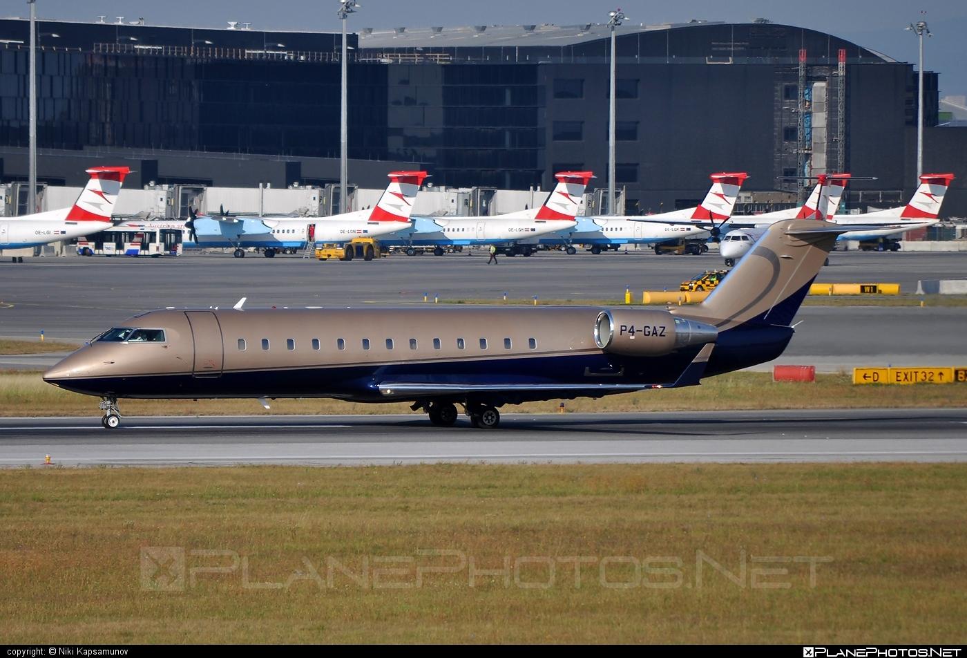Bombardier CRJ100ER - P4-GAZ operated by Verseil Jet AVV #bombardier #crj100 #crj100er