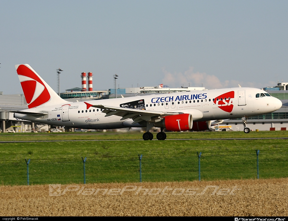 Airbus A320-214 - OK-GEB operated by CSA Czech Airlines #a320 #a320family #airbus #airbus320 #csa #czechairlines