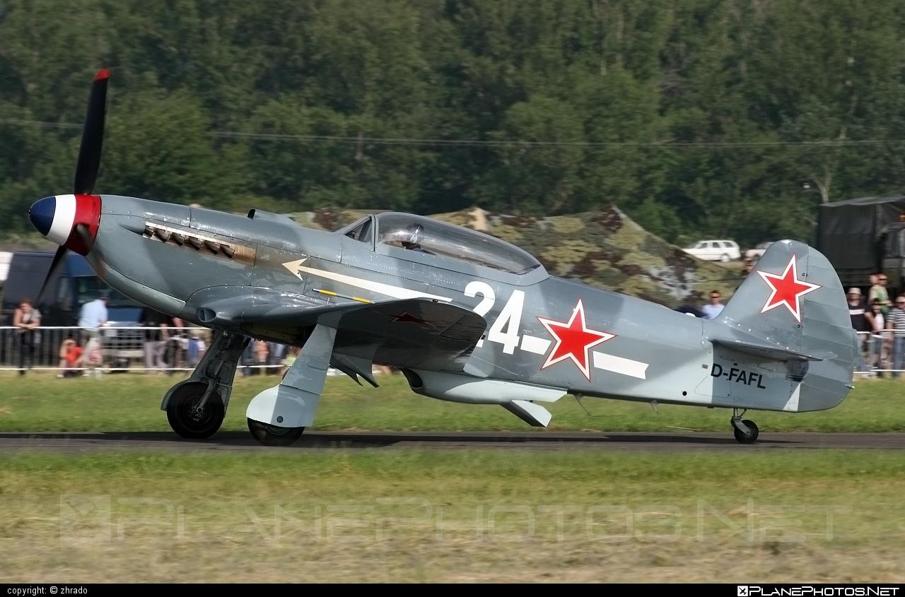 Yakovlev Yak-3U - D-FAFL operated by Private operator #yak #yak3 #yak3u #yakovlev