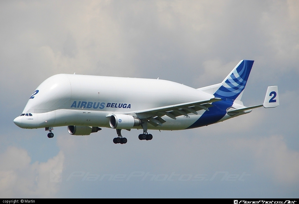 Airbus A300F4-608ST Beluga - F-GSTB operated by Airbus Transport International #a300 #airbus #airbusbeluga #beluga