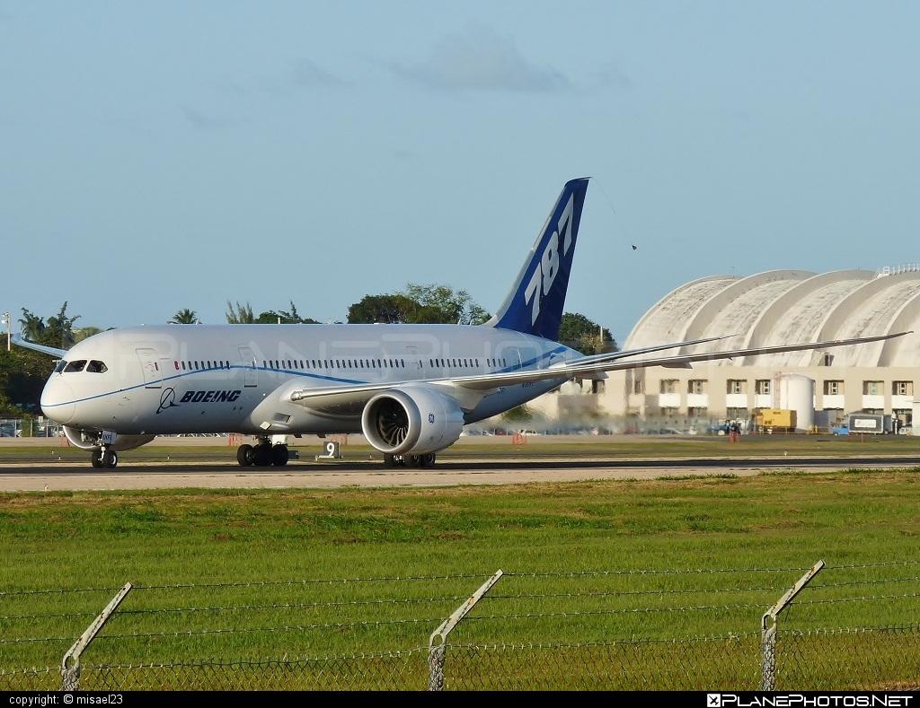 Boeing 787-8 Dreamliner - N787FT operated by Boeing Company #b787 #boeing #boeing787 #dreamliner