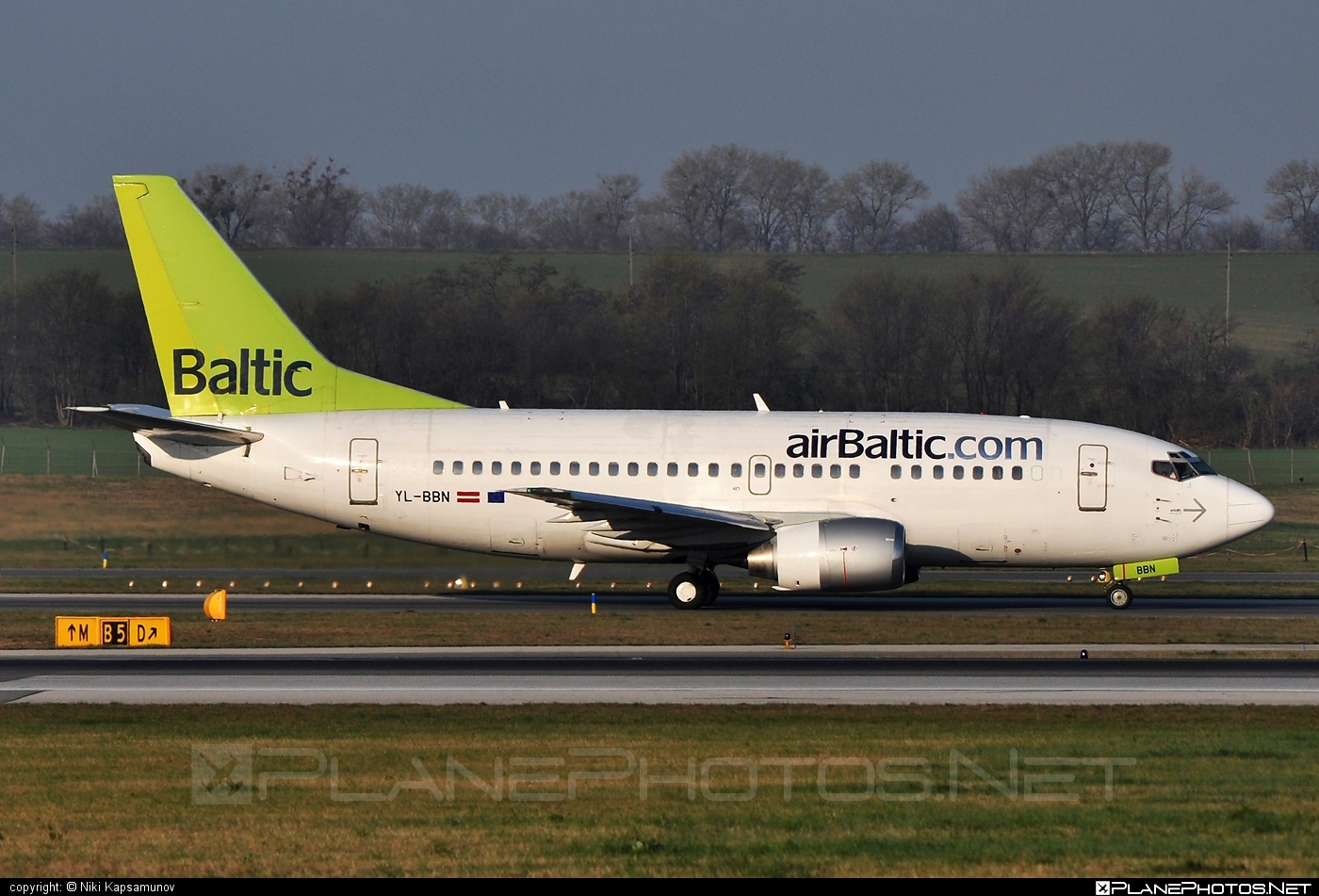 Boeing 737-500 - YL-BBN operated by Air Baltic #airbaltic #b737 #boeing #boeing737