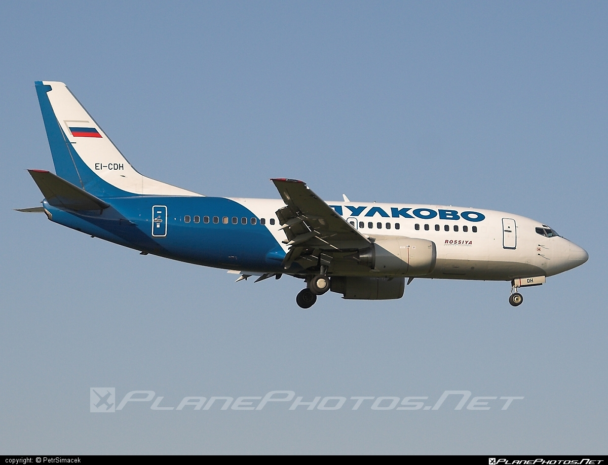Boeing 737-500 - EI-CDH operated by Pulkovo Aviation Enterprise #b737 #boeing #boeing737