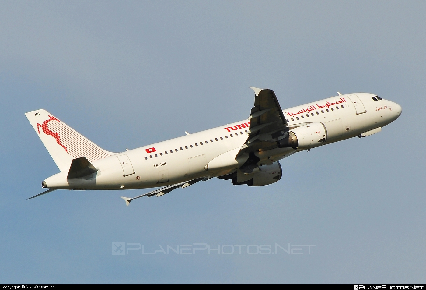 Airbus A320-211 - TS-IMH operated by Tunisair #a320 #a320family #airbus #airbus320 #tunisair