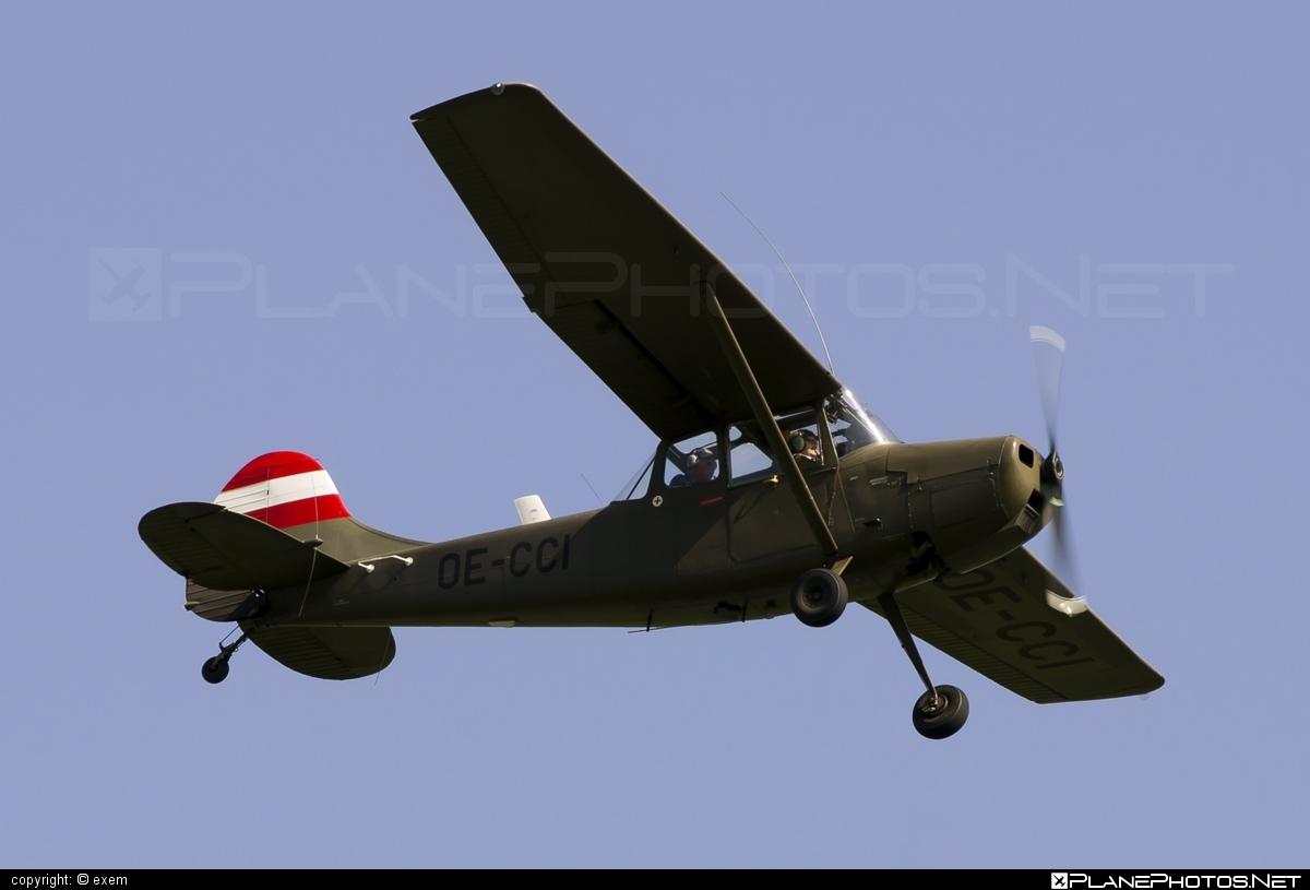 Cessna O-1E Bird Dog - OE-CCI operated by Private operator #cessna