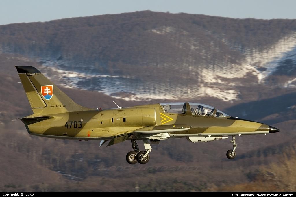 Aero L-39ZA Albatros - 4703 operated by Vzdušné sily OS SR (Slovak Air Force) #aero #aerol39 #aerol39albatros #aerol39zaalbatros #albatros #l39 #l39za #l39zaalbatros #slovakairforce #vzdusnesilyossr