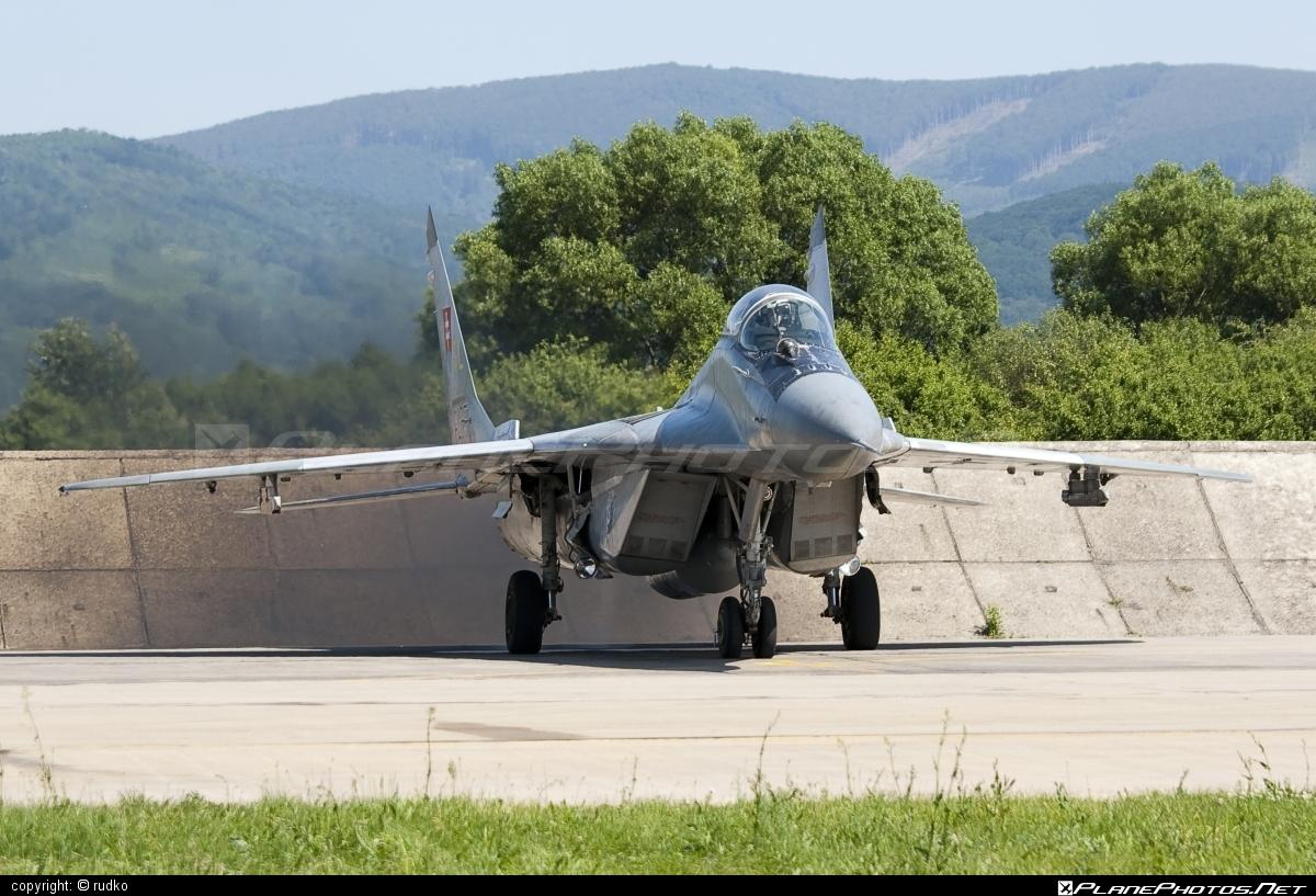 Mikoyan-Gurevich MiG-29AS - 6425 operated by Vzdušné sily OS SR (Slovak Air Force) #mig #mig29 #mig29as #mikoyangurevich #slovakairforce #vzdusnesilyossr