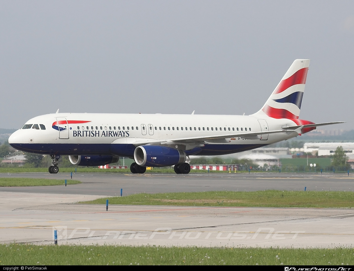 Airbus A320-232 - G-EUUS operated by British Airways #a320 #a320family #airbus #airbus320 #britishairways