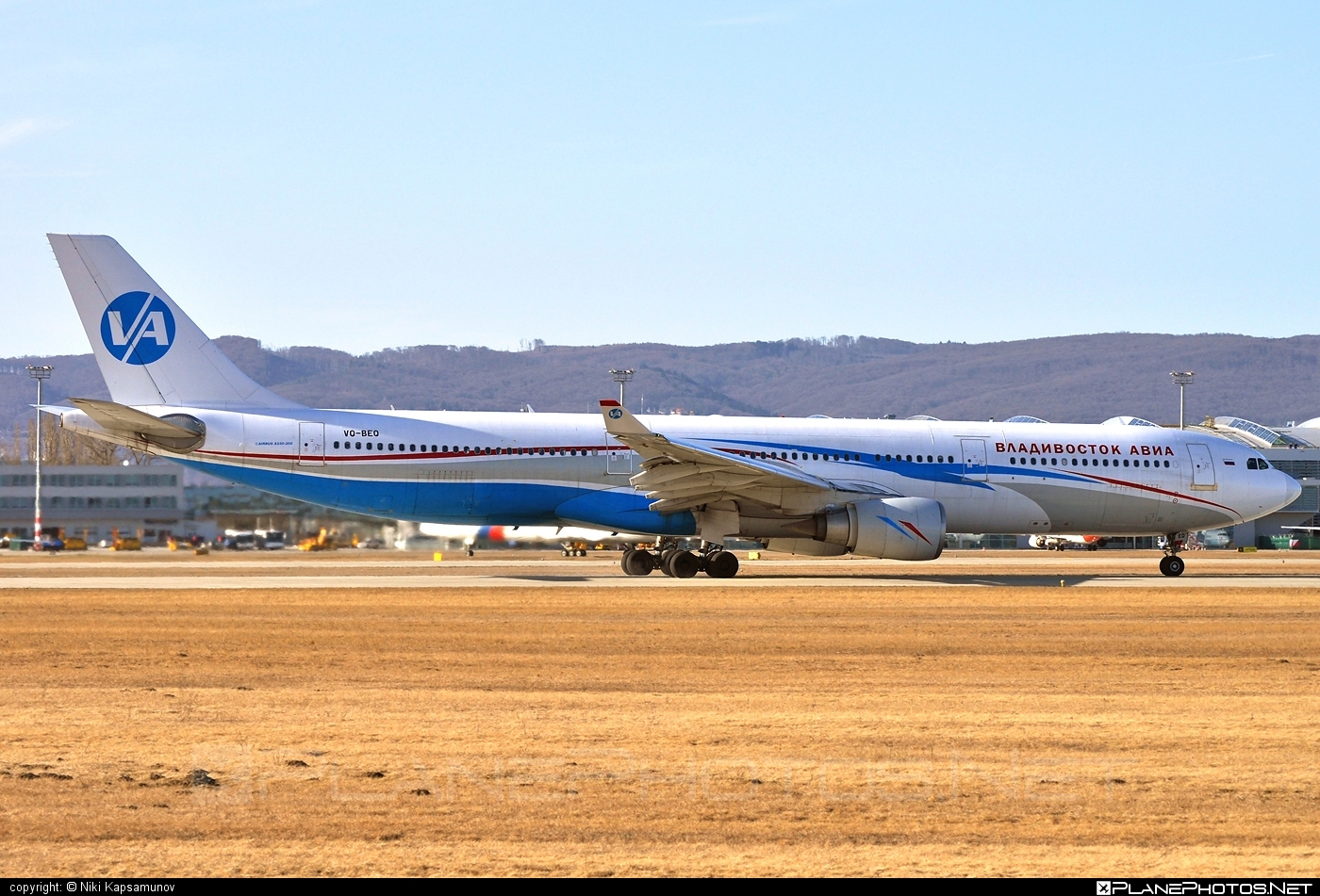 Airbus A330-301 - VQ-BEQ operated by Vladivostok Avia #a330 #a330family #airbus #airbus330