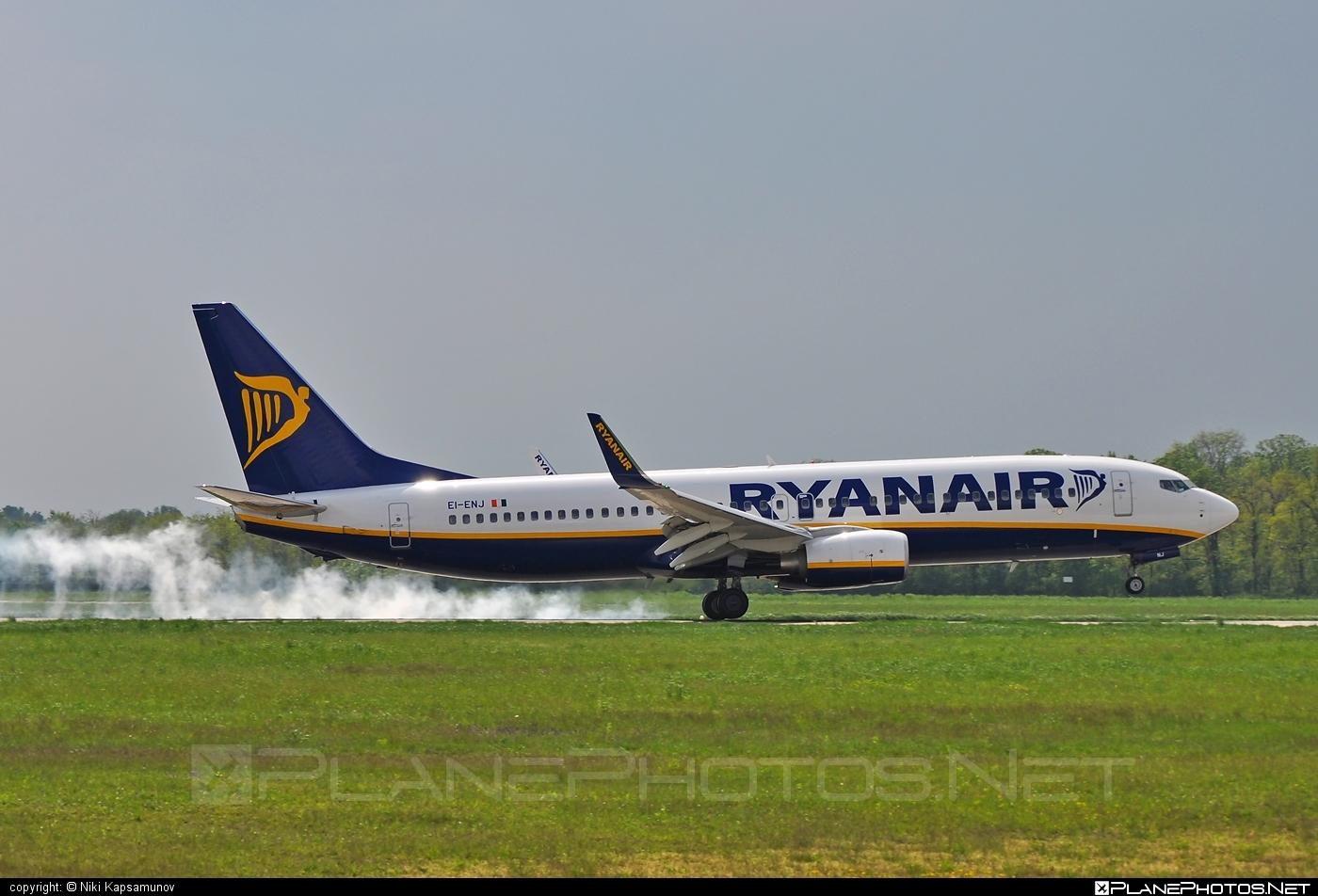 Boeing 737-800 - EI-ENJ operated by Ryanair #b737 #b737nextgen #b737ng #boeing #boeing737 #ryanair