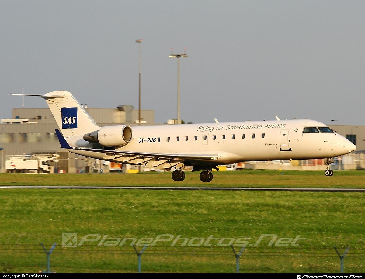 Bombardier CRJ200ER - OY-RJB operated by Cimber Air #bombardier #bombardiercrj #bombardiercrj200 #bombardiercrj200er #crj200 #crj200er