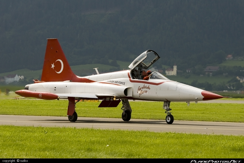 Canadair NF-5A Freedom Fighter - 70-3015 operated by Türk Hava Kuvvetleri (Turkish Air Force) #canadair #turkishairforce