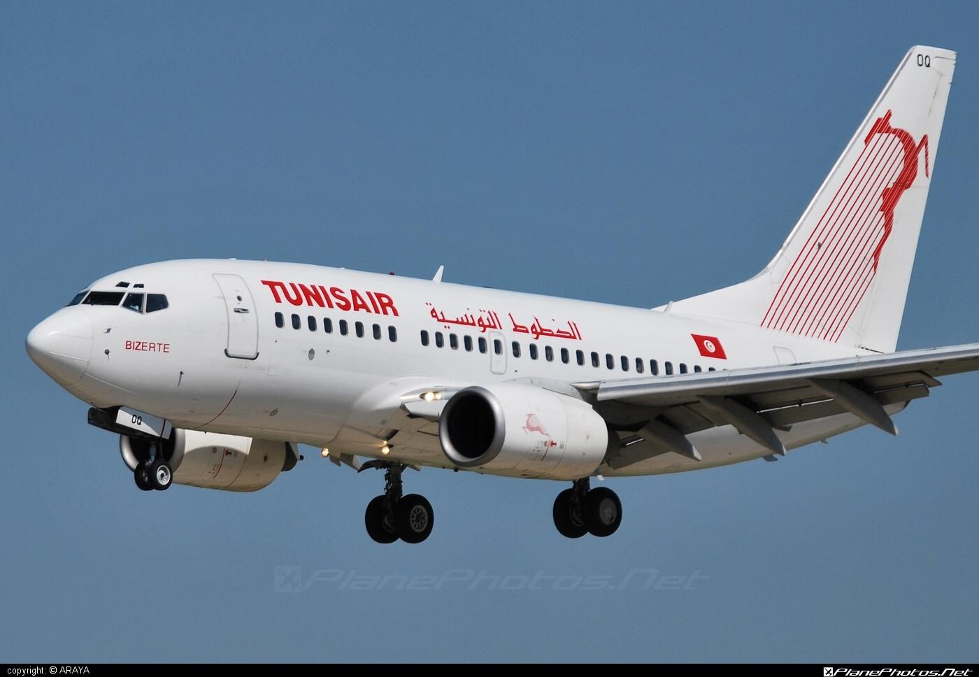 Boeing 737-600 - TS-IOQ operated by Tunisair #b737 #b737nextgen #b737ng #boeing #boeing737 #tunisair