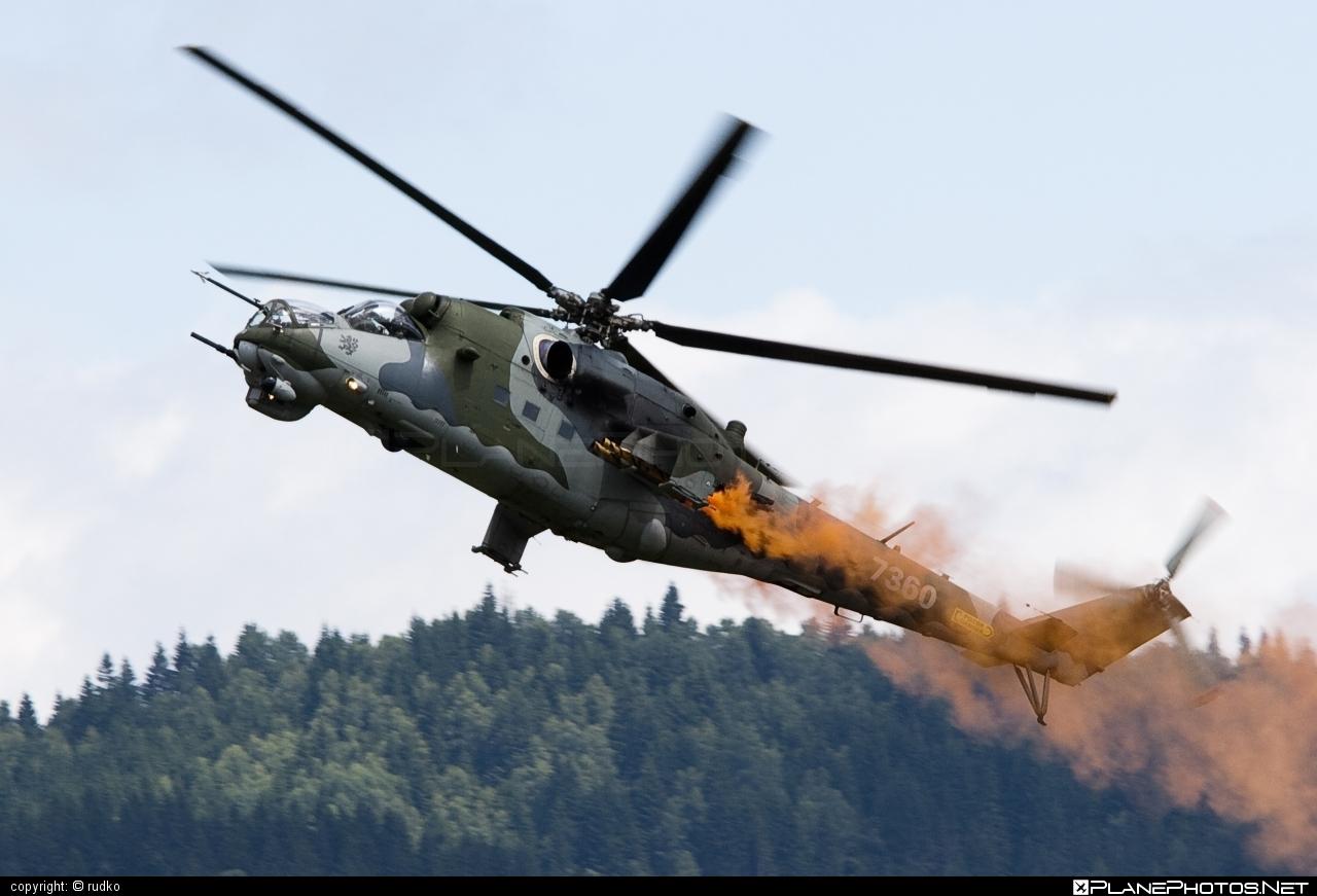 Vzdušné síly AČR (Czech Air Force) Mil Mi-35 - 7360