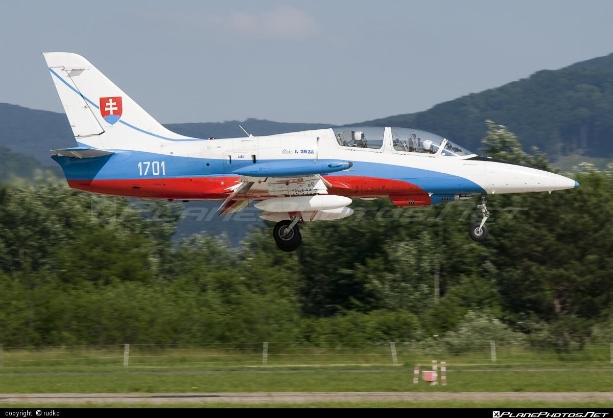 Aero L-39ZA Albatros - 1701 operated by Vzdušné sily OS SR (Slovak Air Force) #aero #aerol39 #aerol39albatros #aerol39zaalbatros #albatros #l39 #l39za #l39zaalbatros #slovakairforce #vzdusnesilyossr