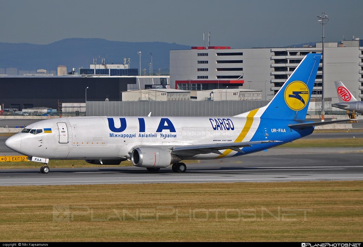 Boeing 737-300F - UR-FAA operated by Ukraine International Airlines Cargo #b737 #b737f #b737freighter #boeing #boeing737