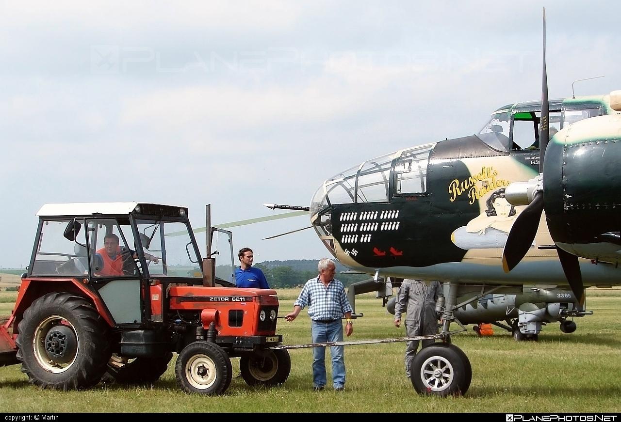 North American B-25J Mitchell - F-AZZU operated by Private operator #b25 #b25j #b25mitchell #northamerican