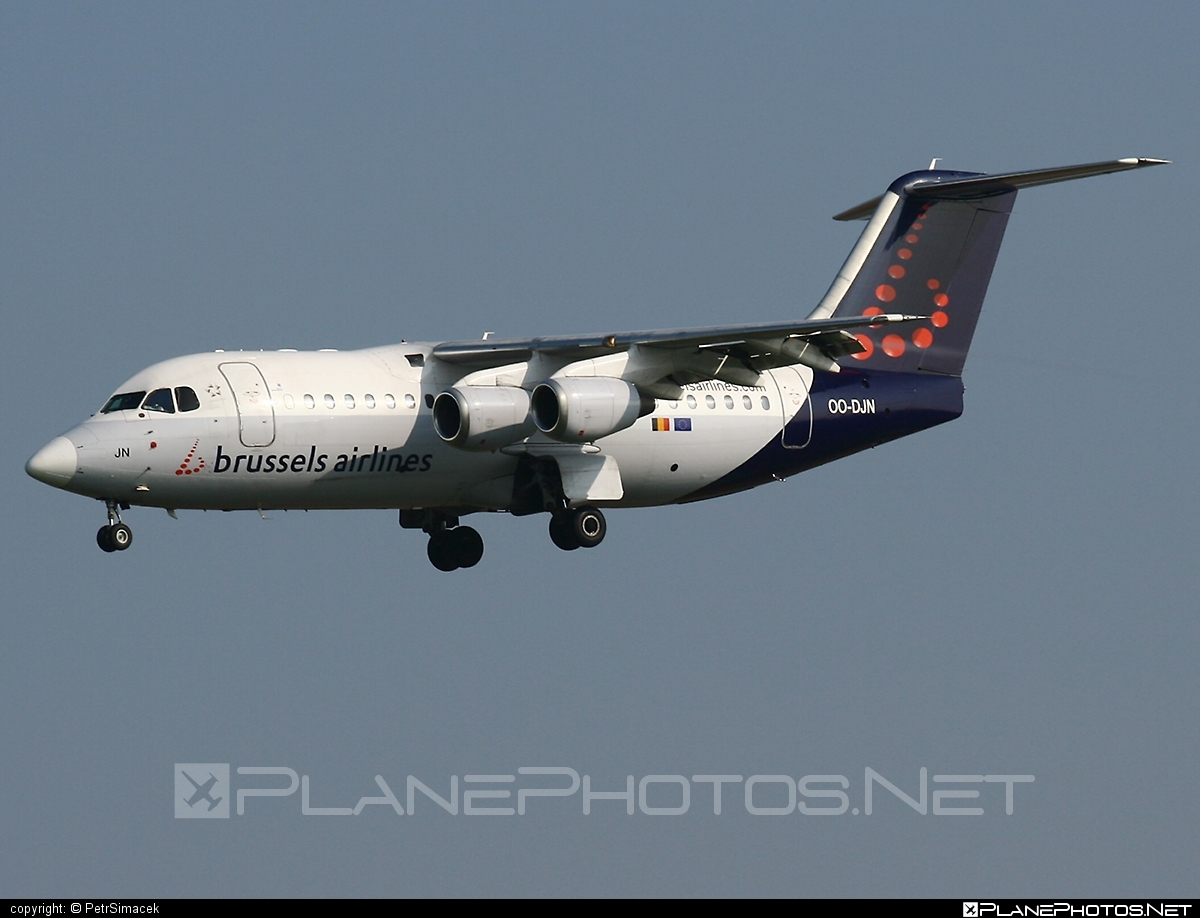 British Aerospace Avro RJ85 - OO-DJN operated by Brussels Airlines #avro146rj85 #avrorj85 #bae146 #britishaerospace #brusselsairlines