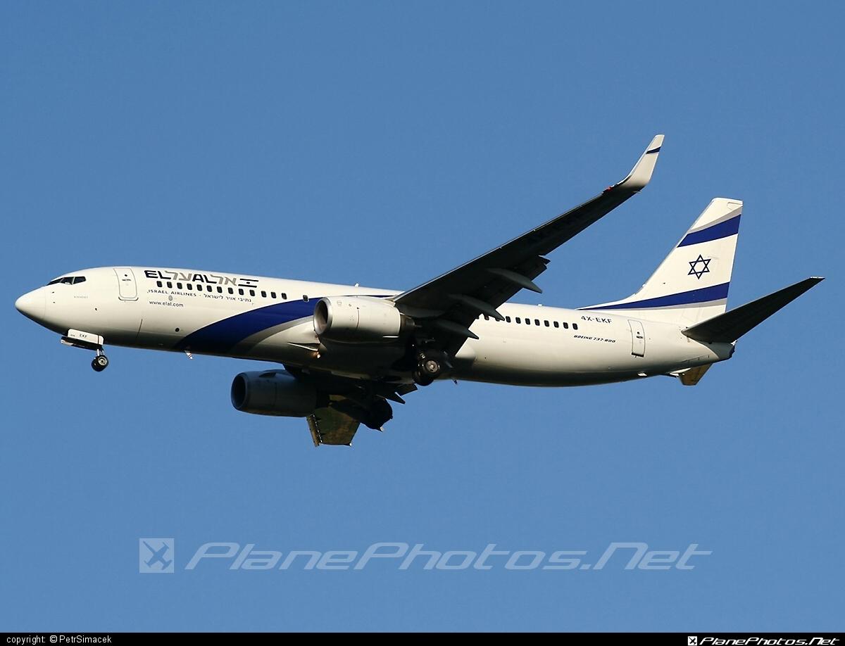 Boeing 737-800 - 4X-EKF operated by El Al Israel Airlines #b737 #b737nextgen #b737ng #boeing #boeing737 #elal #elalisraelairlines #israelairlines