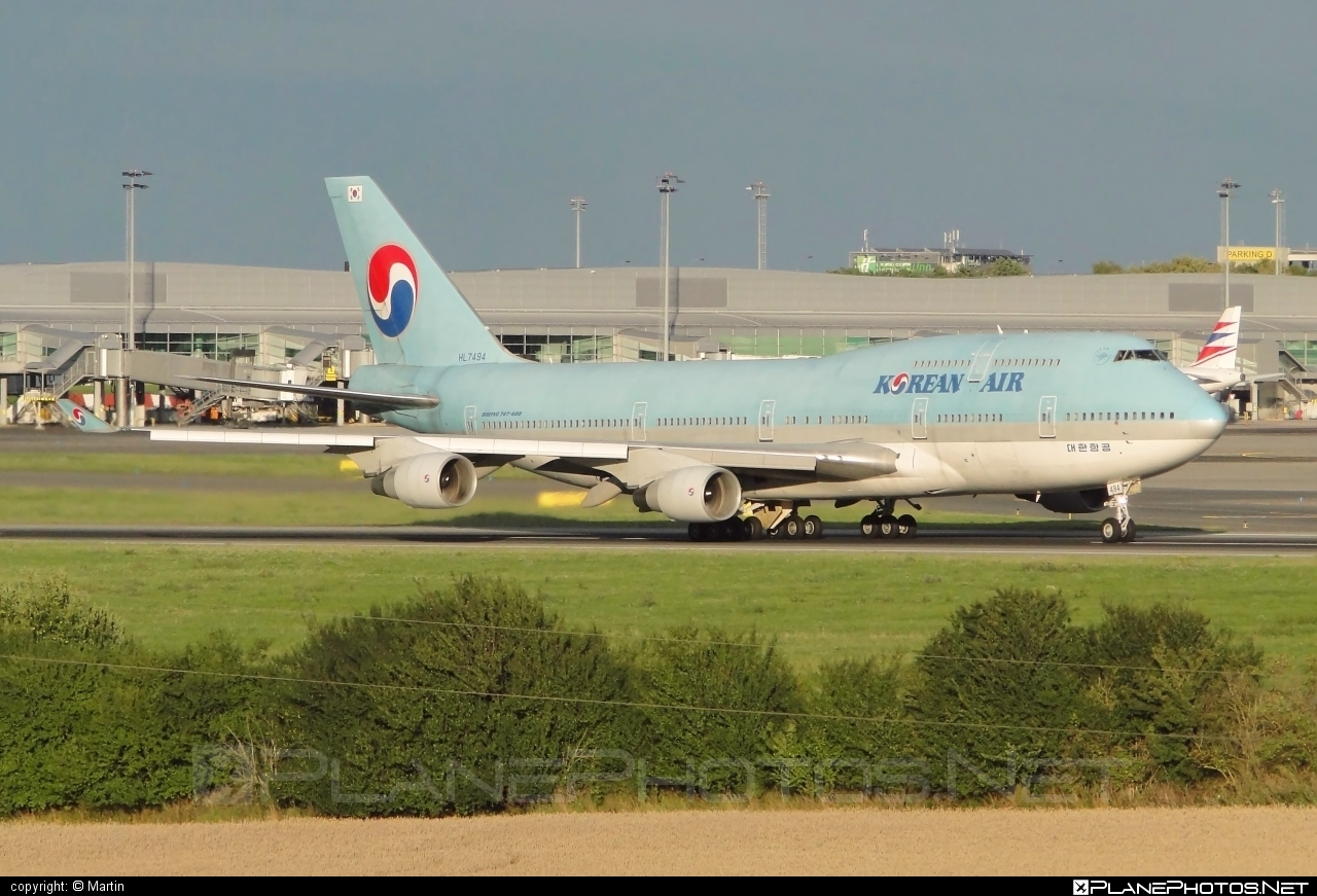 Boeing 747-400 - HL7494 operated by Korean Air #b747 #boeing #boeing747 #jumbo #koreanair