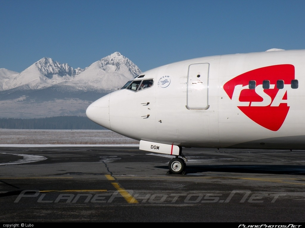 Boeing 737-400 - OK-DGM operated by CSA Czech Airlines #b737 #boeing #boeing737 #csa #czechairlines