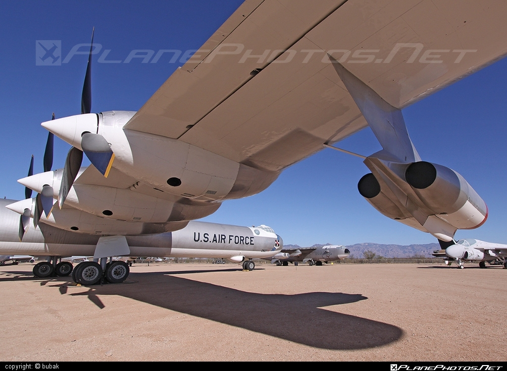 Convair B-36J Peacemaker - 52-2827 operated by US Air Force (USAF) #convair #usaf #usairforce