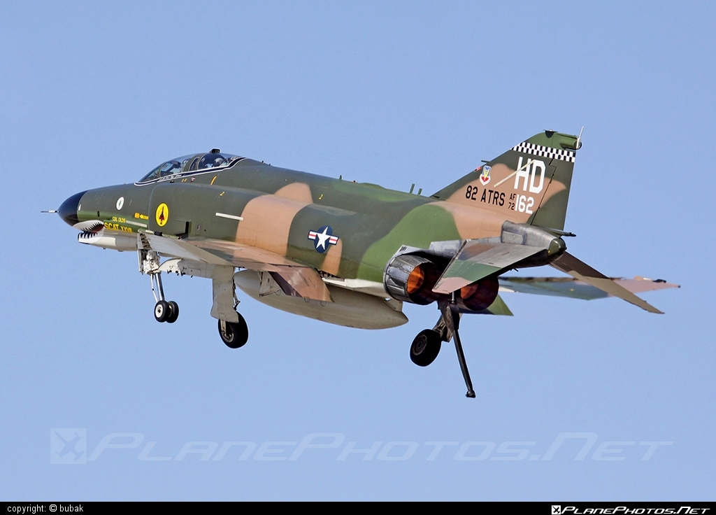 McDonnell Douglas QF-4E Phantom II - 72-0162 operated by US Air Force (USAF) #mcdonnelldouglas #usaf #usairforce