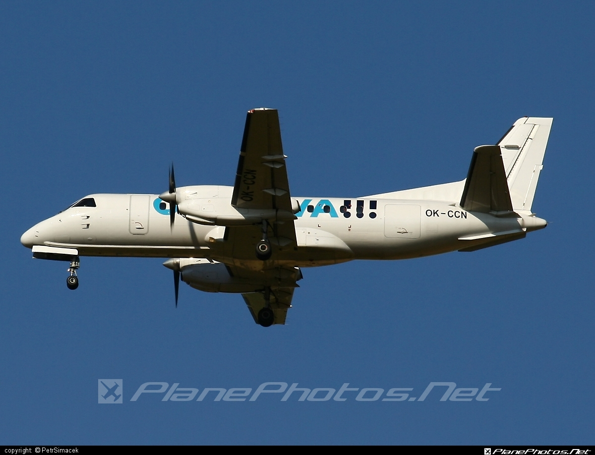 Saab 340B - OK-CCN operated by Central Connect Airlines #saab