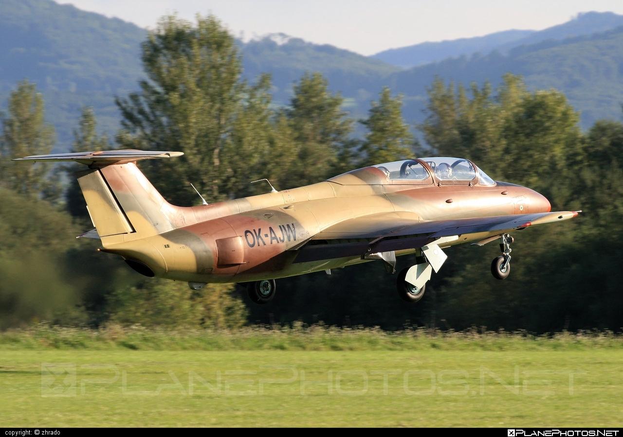 Aero L-29 Delfin - OK-AJW operated by Private operator #aero #aerol29 #aerol29delfin #delfin #l29
