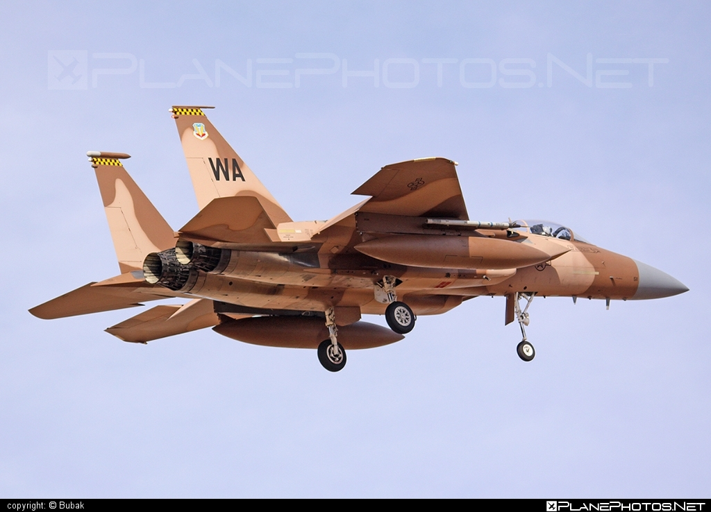 McDonnell Douglas F-15C Eagle - 78-0511 operated by US Air Force (USAF) #mcdonnelldouglas #usaf #usairforce