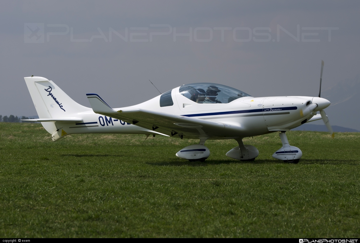 Aerospool WT9 Dynamic - OM-OBI operated by Private operator #aerospool #wt9 #wt9dynamic