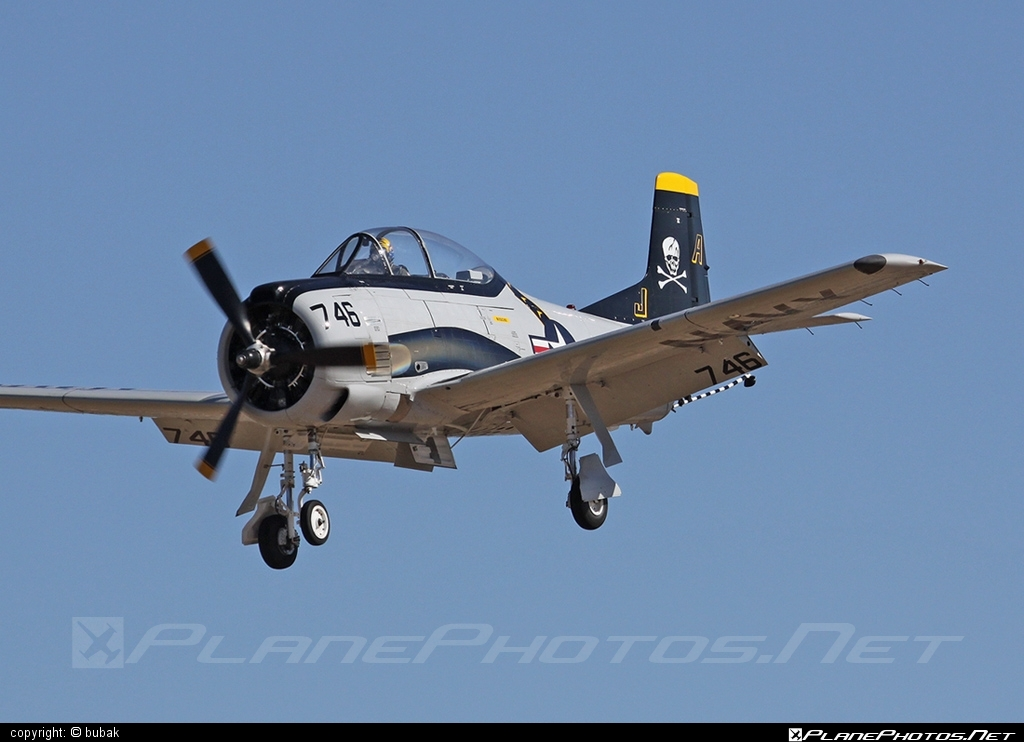 North American T-28C Trojan - N746SH operated by Private operator #northamerican