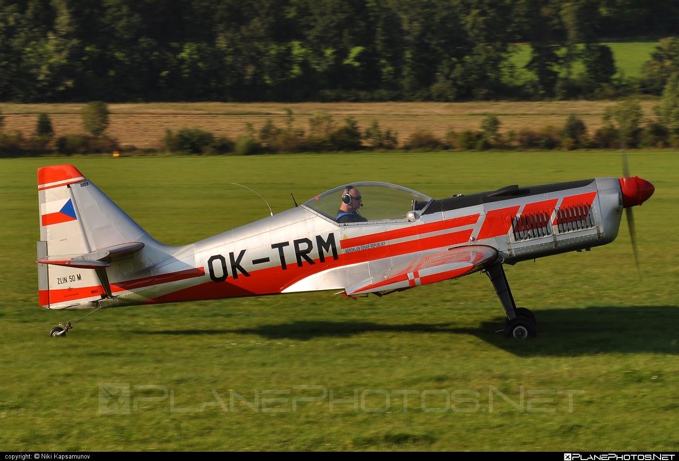 Zlin Z-50M - OK-TRM operated by Letecká škola Vrchlabí #z50 #z50m #zlin #zlin50