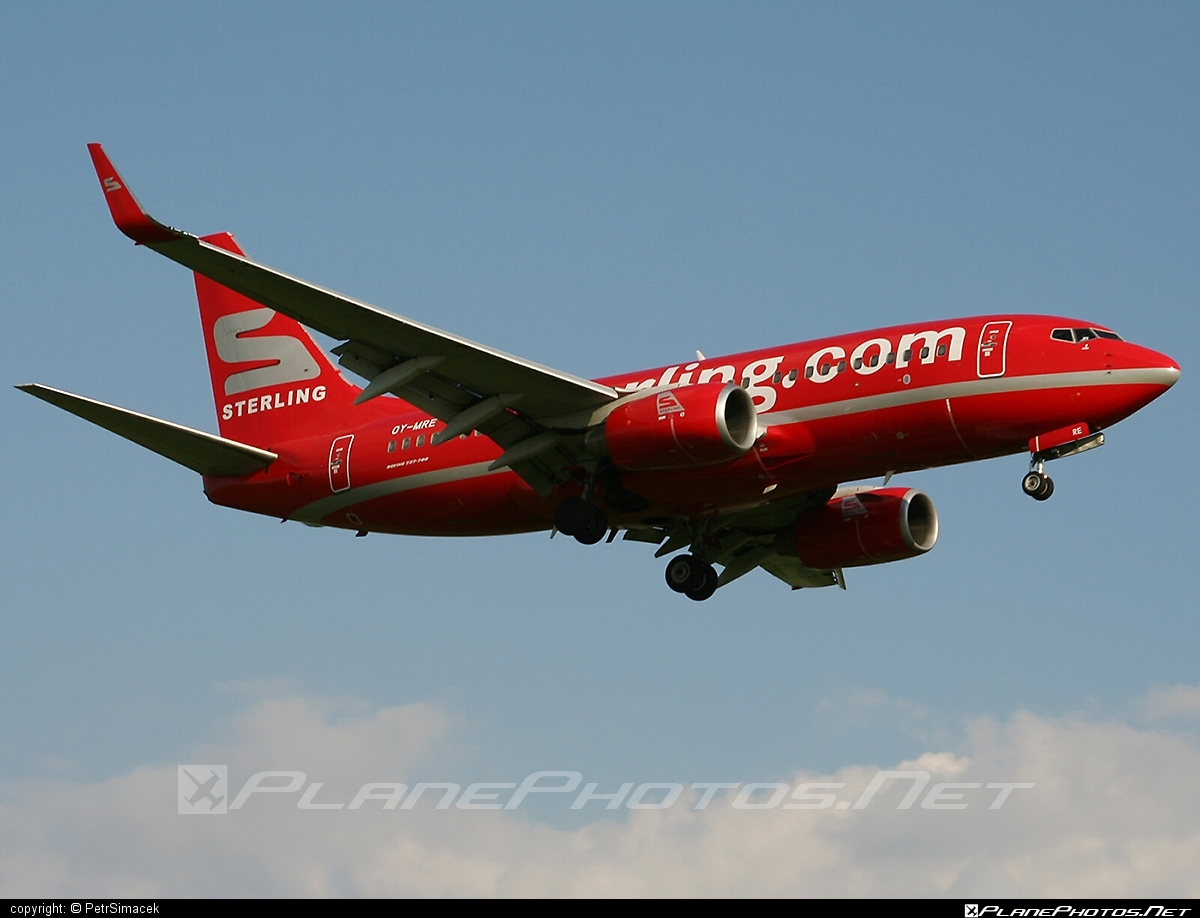 Boeing 737-700 - OY-MRE operated by Sterling Airlines #b737 #b737nextgen #b737ng #boeing #boeing737
