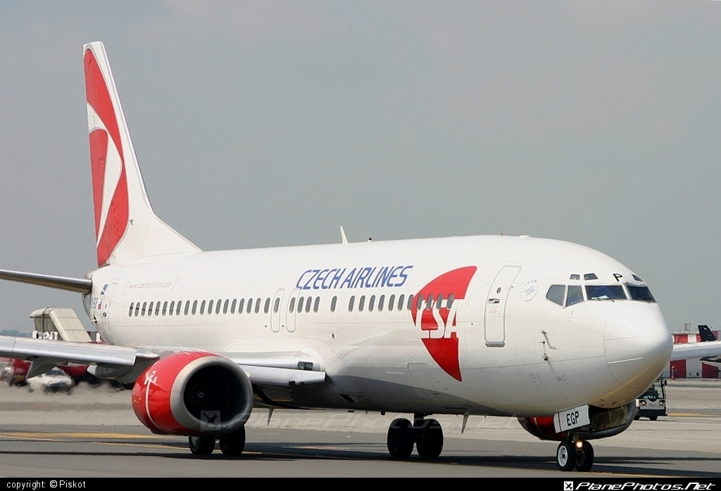 Boeing 737-400 - OK-EGP operated by CSA Czech Airlines #b737 #boeing #boeing737 #csa #czechairlines