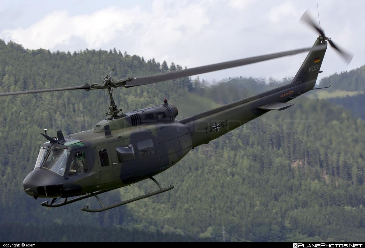 Dornier UH-1D Iroquois - 73+63 operated by Deutsches Heer (German Army) #dornier